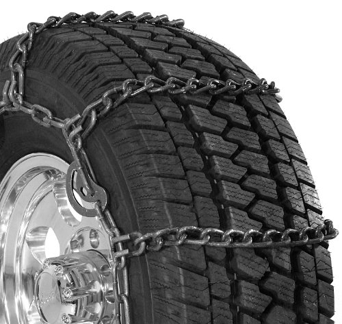 Security Chain Company QG3227CAM Quik Grip Wide Base Type CAM-DH Light Truck Tire Traction Chain - Set of 2