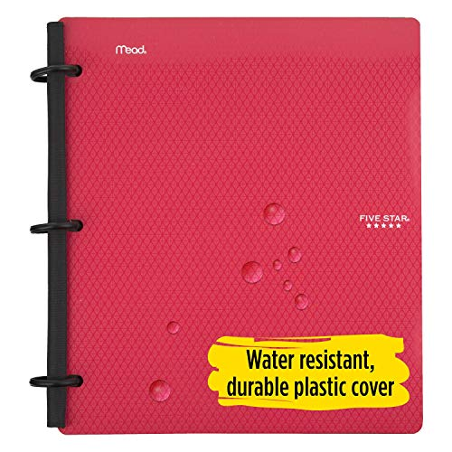 Five Star Flex Hybrid NoteBinder, 1-1/2 Inch Binder with Tabs, Notebook and 3 Ring Binder All-in-One, Assorted Colors, Color Selected For You, 1 Count (29146) Photo #10