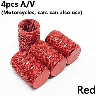 Zyj stores 4 stuks Bike wiel band Covered Auto Motor Truck Universal Tube Tire Fiets AV SV American AIR Valve Cap stofdich...