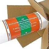JUNOPAX 50m x 1,15m Papiertischdecke weiß | nass- und wischfest - 8