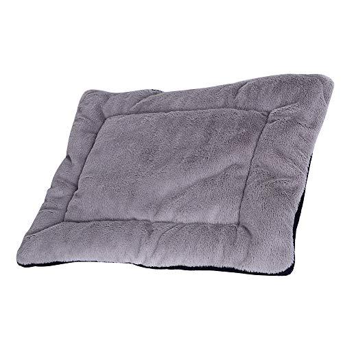 M.Q.L. - Alfombrilla de cama para perro (63,5 cm), color gris oscuro