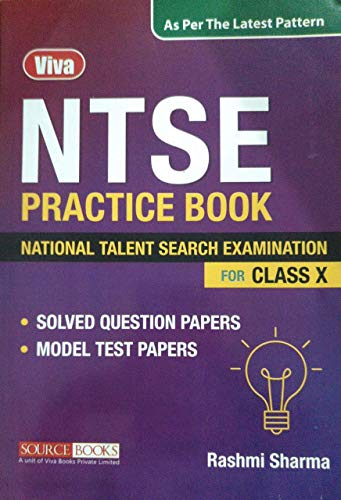 NTSE Practice Book - National Talent Search Examination - For Class X - Including Solved Question Papers & Model Test Papers