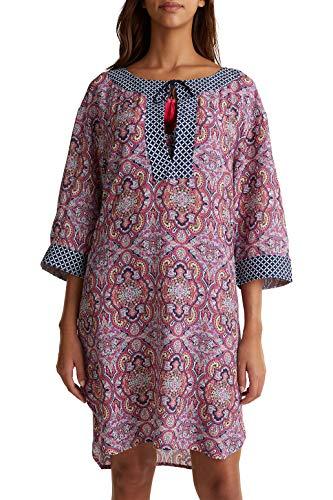 ESPRIT Tunika-Kleid mit Muster-Mix