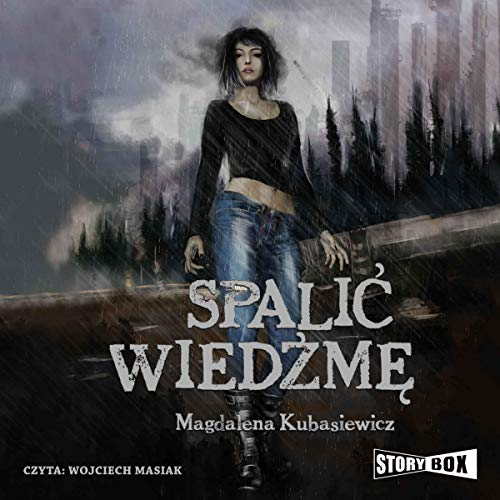 Spalić wiedźmę audiobook cover art