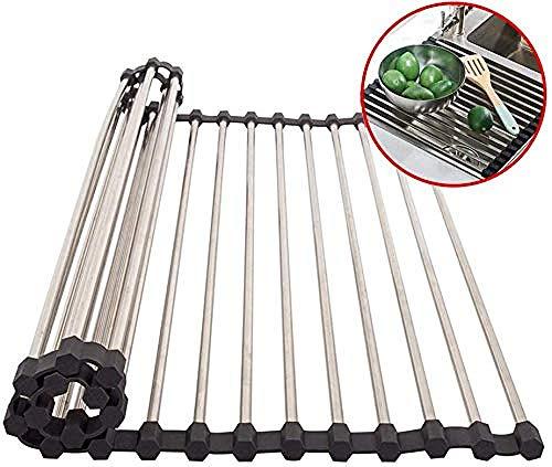 Drip Foldable Rollbares Tropfkissen Für Spülbecken Edelstahl 304,38×33