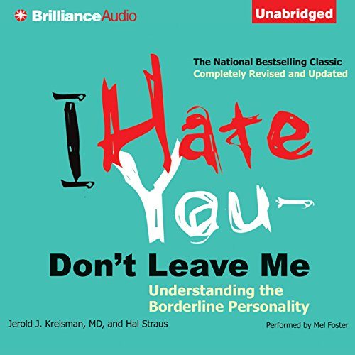 I Hate You - Don't Leave Me audiobook cover art