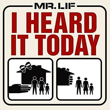 I Heard it Today (Single)