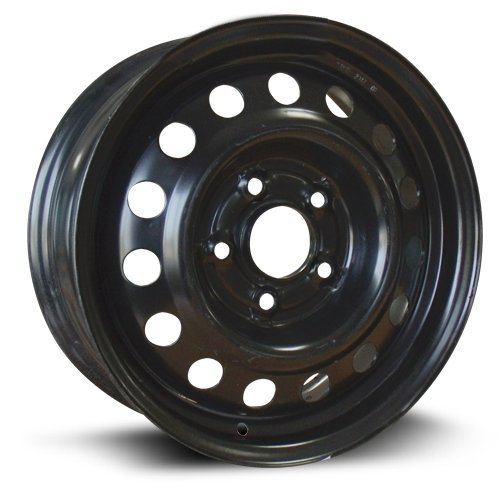 RTX, Steel Rim, New Aftermarket Wheel, 15X6, 5X114.3, 67.1, 45, black finish X45567