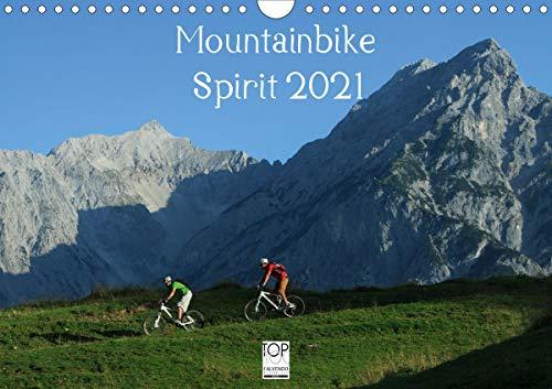 Mountainbike Spirit 2021 (Wandkalender 2021 DIN A4 quer)