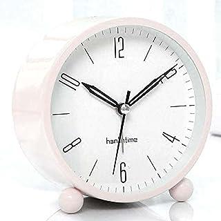 Sängbord väckarklocka kvarts analog tyst med lätt bordsklocka
