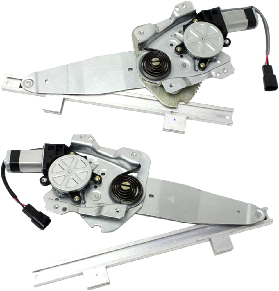 QYXY 2pcs Rear Be super welcome Left+Right Side Window Motor Regulator w Discount mail order 741-114+