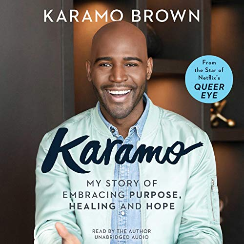 Karamo audiobook cover art