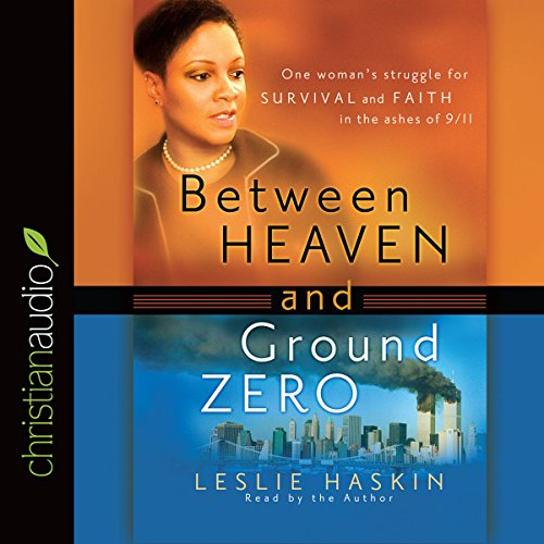 Between Heaven and Ground Zero audiobook cover art