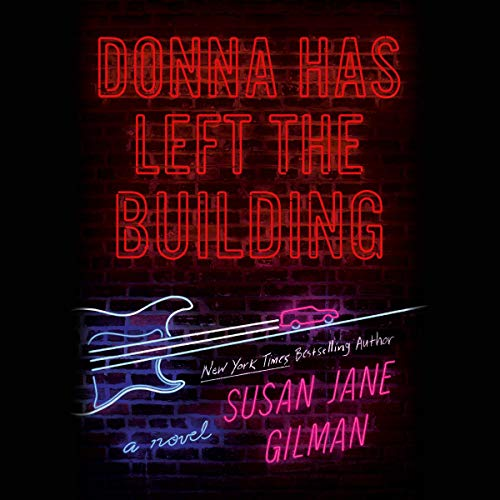 Donna Has Left the Building audiobook cover art