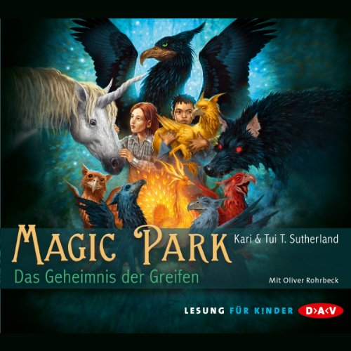 Das Geheimnis des Greifen (Magic Park 1) audiobook cover art