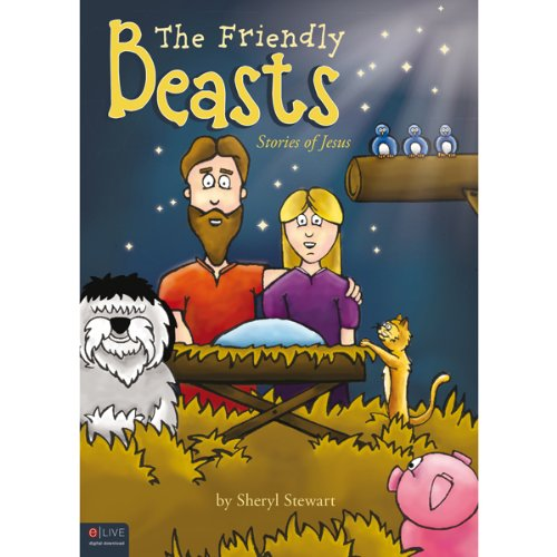 The Friendly Beasts audiobook cover art