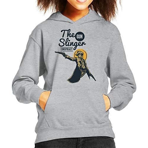 Cloud City 7 The Gun Slinger Conspiracy Sweatshirt met capuchon voor kinderen