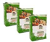 sicilia bedda - semola rimacinata di grano duro siciliano ideale per pane tradizionale, pasta e pizze - 3 conf. da 1 kg - 3 kg di farina siciliana