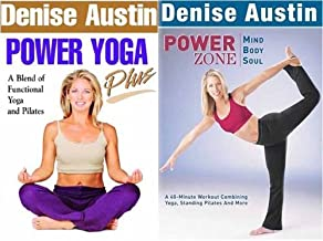 Denise Austin - Power Yoga Plus / Power Zone - Mind, Body, Soul ( 2 Pack)