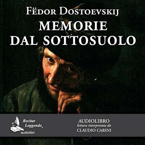 Memorie dal sottosuolo audiobook cover art
