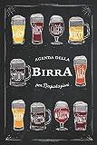 Agenda della Birra: Quaderno di degustazione con 100 schede dettagliate e indice personalizzabile per annotare le tue degustazioni. Idea Regalo Sommelier | 6x9 Soft Cover