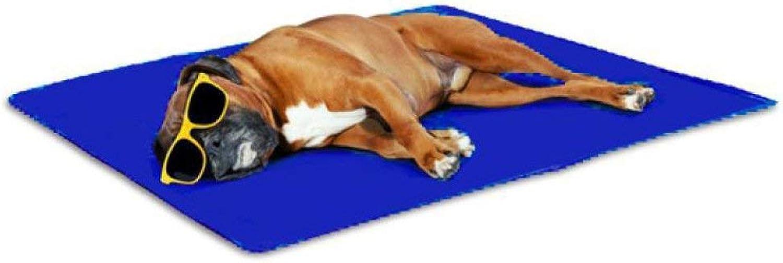Pet Sofa Self Cooling Gel Pet Dog Cat Cool Mat Pad Bed Mattress Heat Relief NonToxic (Size   Large)