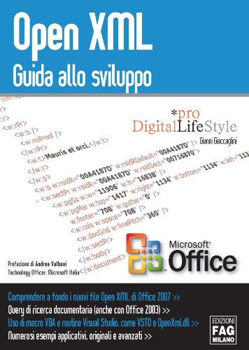 Open XML. Guida allo sviluppo (Pro DigitalLifeStyle)
