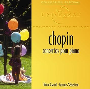ショパン:ピアノ協奏曲第1・2番