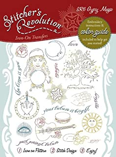 Stitcher's Revolution Gypsy Magic Iron-on Transfer Pattern for Embroidery