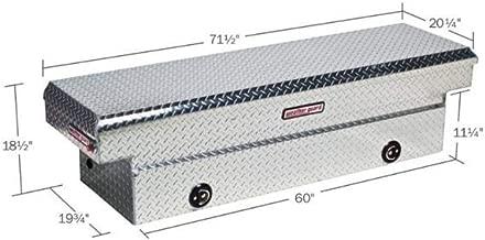 Weather Guard 127002 Aluminum Saddle Box