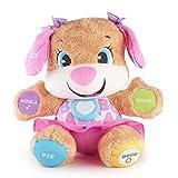 Fisher-Price - Ríe y Aprende - Perrita primeros descubrimientos - juguetes bebe 6 meses - (Mattel FPP55)