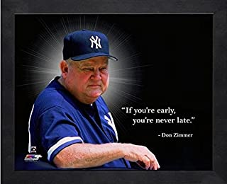 Don Zimmer New York Yankees Pro Quotes Photo (Size: 12