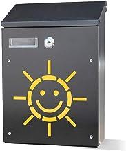 Mailbox Outdoor Mail Box Letter Box Muur Opknoping Decoratie Suggestie Box (Kleur: B)