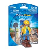 PLAYMOBIL PLAYMO-FRIENDS 70560 Obrero, A partir de 4 años