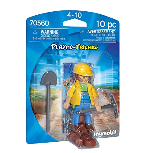 PLAYMOBIL PLAYMO-FRIENDS 70560 Bauarbeiter, Ab 4 Jahren