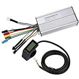 Bnineteenteam Regulador eléctrico sin Cepillo de la Bici de 36V / 48V 30A, Conector Normal del Equipo de la Pantalla de visualización del KT LCD4