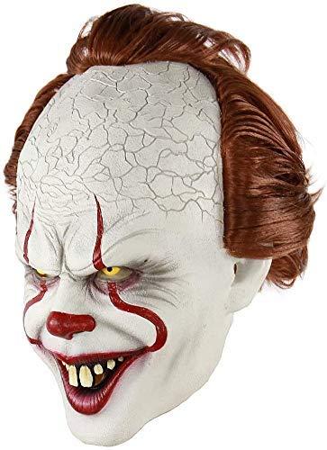 Halloween Clown Mask Hoofddeksels It, Clown Mask Stephen King'S Het Masker Pennywise Horror Clown Joker Masker Halloween Cosplay Costume Props HAOSHUAI