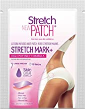 Stretch Patch Stretch Mark+ High Potency Formula - Lotion Infused Hot Patch for Stretch Marks 7 Patches per Pack