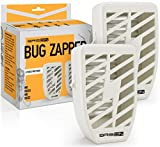 6. Indoor Plug-in Bug Zapper - Power Portable Home Electric Insect Trap - Odorless Noiseless  for Removes Flies Mosquitos Gnats Moth and Bugs (2 Packs)