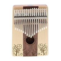 17鍵 カリンバ サムピアノ 絶妙な職人技 耐久性 全3選択 - #1