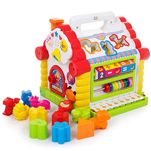 Kinderplay KP7766 - Interactive Spielcenter Funny Cottage