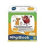 VTech – Libro MagBook – Le Rey Leon – Descubre los Animales de la Sabana – Libro Educativo – Libro 2 – 5 años – Versión FR
