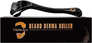Beard Derma Roller for Beard Growth - تحریک رشد ریش - Derma Roller for men - Skin Roller for Home برای مراقبت از پوست - YOOBEAUL ریش ریش پر کردن مجدد