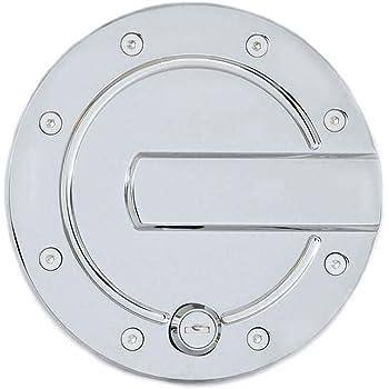 AMI 6152GKL Race Style Billet Fuel Door 6 3//8 Ring O.D No Door-Gloss Black locking door 1 Pack