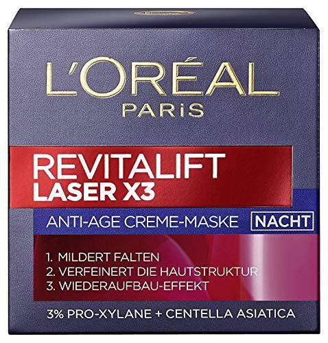 L'oreal Paris Revitalift Laser X3 - Crema antiedad de noche (2 unidades)