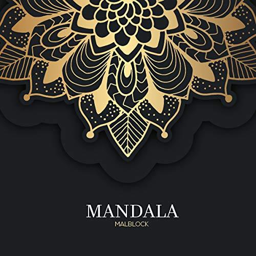 Largiri Mandala Malblock für Erwachsene: Kreativ meditieren, entspannen, Stress abbauen – für mehr Ruhe, Ausgeglichenheit & Achtsamkeit (Hergestellt in Deutschland)