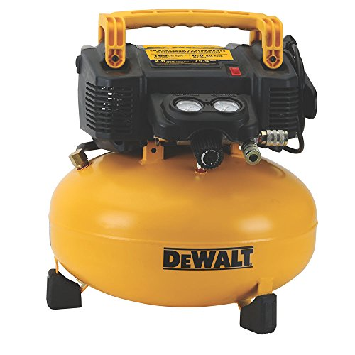 DEWALT Pancake Air Compressor, 6 Gallon, 165 PSI...