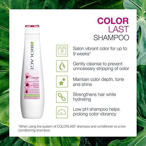 BIOLAGE ColorLast Shampoo for Color Treated Hair, 33.8 Ounce