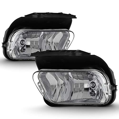 ACANII - For 2003-2006 Chevy Silverado Pickup Avalanche Bumper Fog Lights Driving Lamps Assembly Driver & Passenger Side