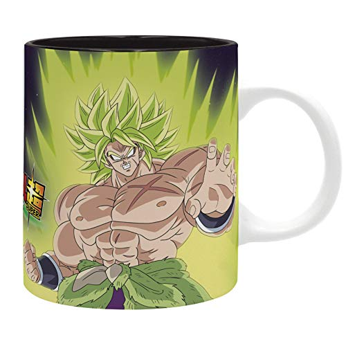 ABYstyle - Dragon Ball Super Broly – Taza – 320 ml – Broly Goku Vegeta
